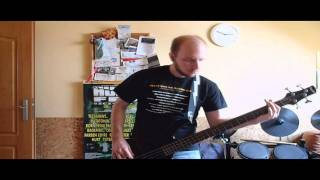 Godsmack - Voodoo & Voodoo Too - bass cover
