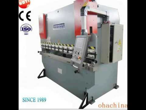 High Quality Cheap Prices WC67Y 100 environmentally plate press break driving hydraulic press brake