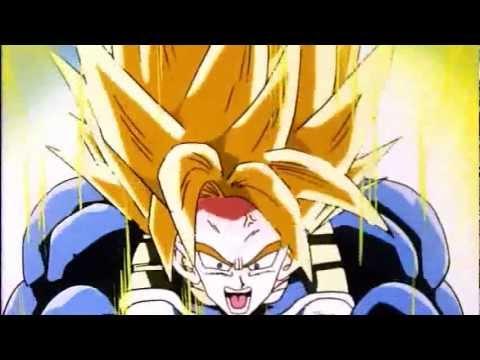 Goku ascends past a Super Saiyan