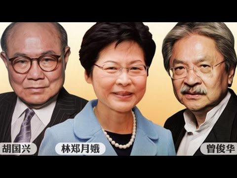 Hong Kong chief executive candidates cross swords in TV debate