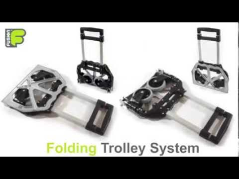 Foldable Trolley by Network Panda Wholesale Trading UAE
