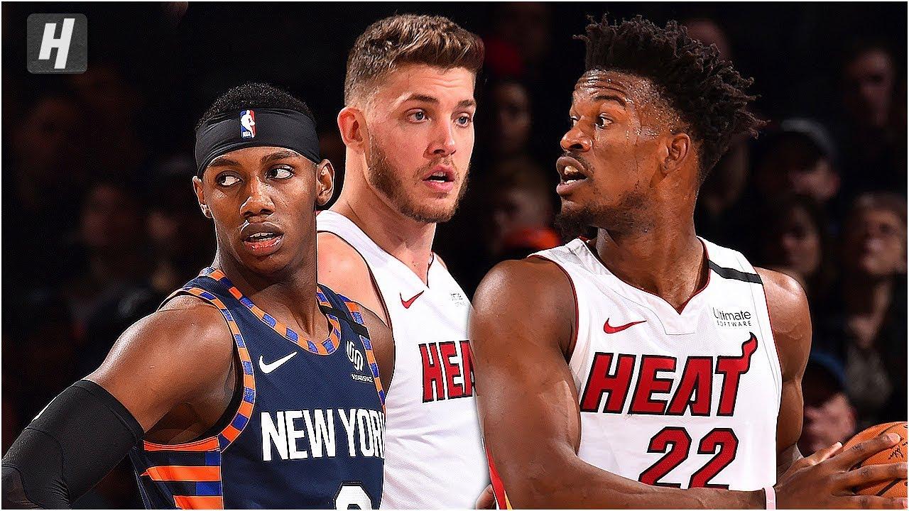 Miami Heat vs New York Knicks - Full Game Highlights | January 12, 2020 | 2019-20 NBA Season