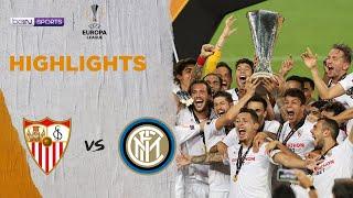 Sevilla 3-2 Inter Milan | Europa League 19/20 Match Highlights