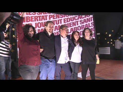 Iglesias insisteix que els comuns són l'alternativa a l'independentisme i l'unionisme