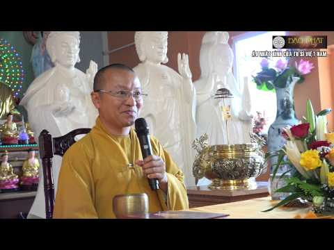 Vấn đáp: Thức Alaya, làm từ thiện, các cấp độ thiền, Kinh Phật cho người tại gia, áo nhật bình của tu sĩ Việt Nam, giới trẻ hải ngoại đi chùa, Kinh Địa Mẫu không phải là kinh Phật, hiểu thêm về ái dục