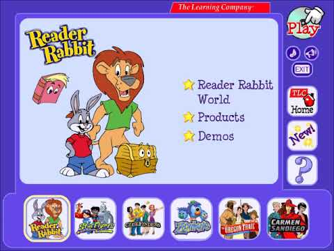 [5min] Reader Rabbit Music - Learning Launcher Theme