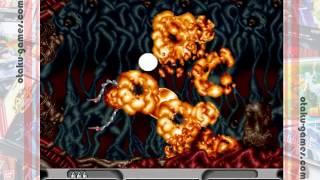 Let's Play Image Fight & X Multiply Arcade Gears on Sega Saturn (イメージファイト&Xマルチプライ/アーケードギアーズ)
