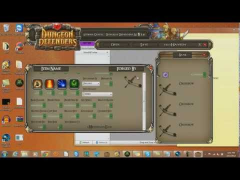 Dungeon Defenders Xbox 360 Eternia Crystal Modding Tool Tut