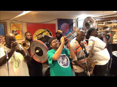 Hot 8 Brass Band @ Louisiana Music Factory 2015
