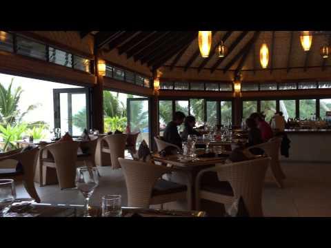 Dinner at Nautilus Rarotonga Cook Islands