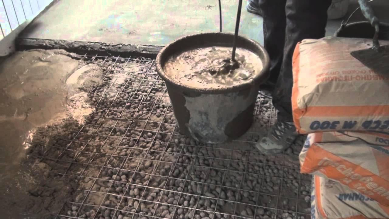 Как сделать стяжку пола с керамзитом фото 646