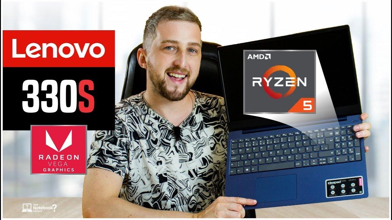 Review Notebook Lenovo Ideapad 330s Ryzen 5 AMD + VEGA 8 Análise 2019 Brasil