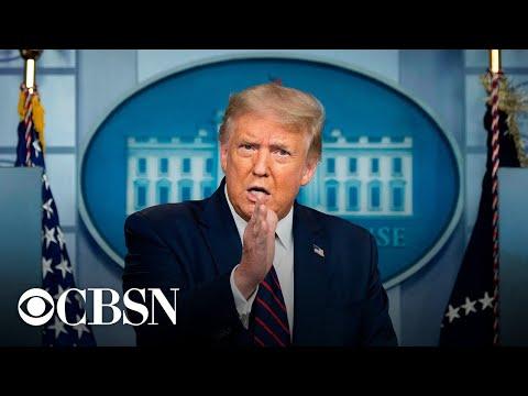 President Trump gives update on coronavirus testing