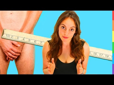 PENISGRÖßE - Wie groß muss sein Penis sein?