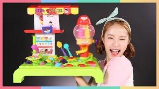 凱利的超市黏土過家家玩具遊戲 | 凱利和玩具朋友 | 凱利TV