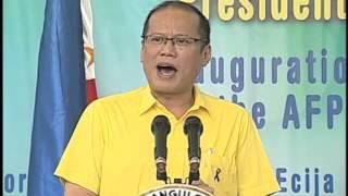 Inauguration of the Aquino-Diokno Memorial and the AFP CHR Dialogue (Speech) 9/21/2012