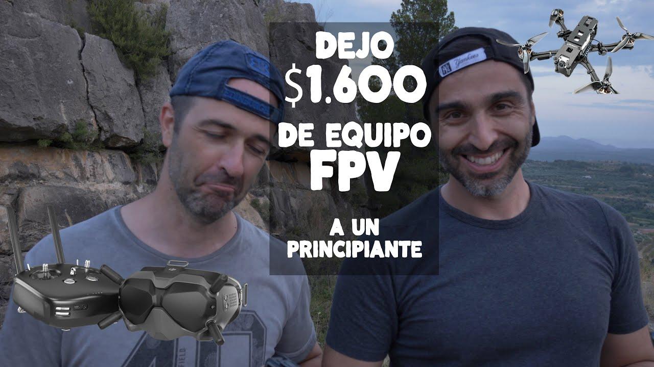 PRESTO mi dron de $1600 FPV a un PRINCIPIANTE 😱😱 (con Felix M4ugan, Willy Foxx y Dron y Video)