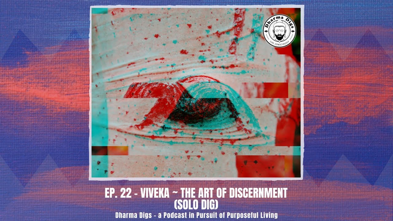 Ep. 22 - Viveka ~ The Art of Discernment (solo dig) - Dharma Digs Podcast