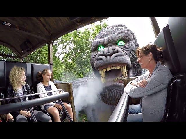 King Kong (Onride) Bobbejaanland Lichtaart 2017