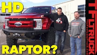 Dude, I Love My Ride! What Could a Ford F-350 Super Duty Raptor Look Like?