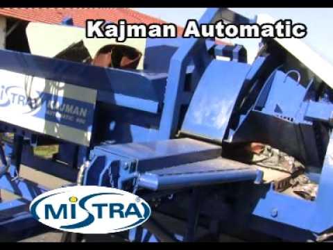 Prasonożyce do cięcia złomu stalowego - Kajman Automatic ...