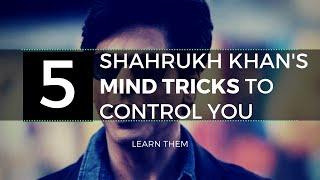 5 Mind Tricks Shahrukh Uses To Be Popular   How To Have Charisma (HINDI) thumbnail