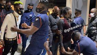 Shatta Wale & Stone Bwoy Arrival Clash At Asaase Radio