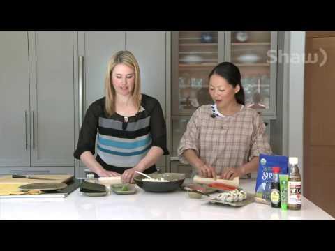 DIY Sushi on Shaw TV