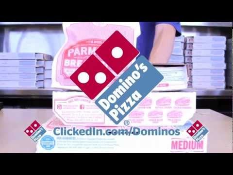 Get over half off at Domino's Pizza with ClickedIn.com