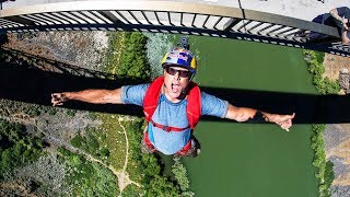 Miles Daisher sets World Record with 63 BASE Jumps in 24 Hours! thumbnail