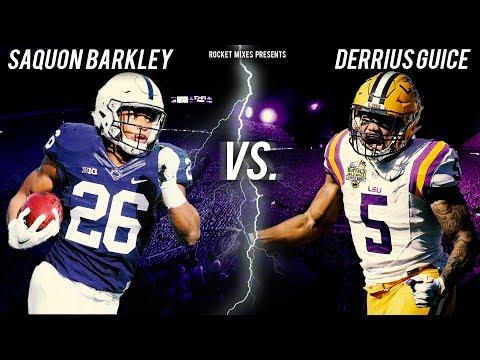 Saquon Barkley vs. Derrius Guice