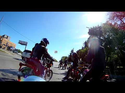 10-1-2017 Detroit moped ride -Spinnerettes