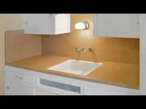 Countertop Resurfacing   Tired Of Your Ugly Kitchen Countertops? Refinish  With Miracle Method.   YouTube