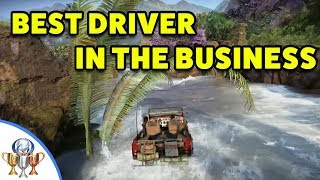 Uncharted The Lost Legacy - Best Driver in the Business - Ganesh Mountain to Trident Fort and Back