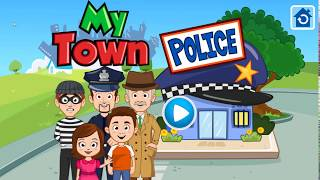 Police Car, Police Helicopter   My Town  Police Game  Cars for Kids  Best Games for Kids Android