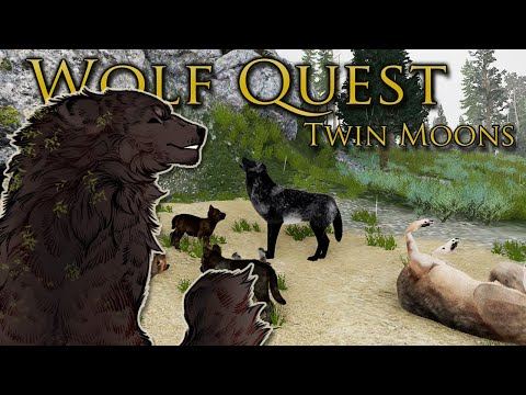 A Sudden Rush of NEWBORNS in the Forest?! 🐺 WOLF QUEST: TWIN MOONS • #44  