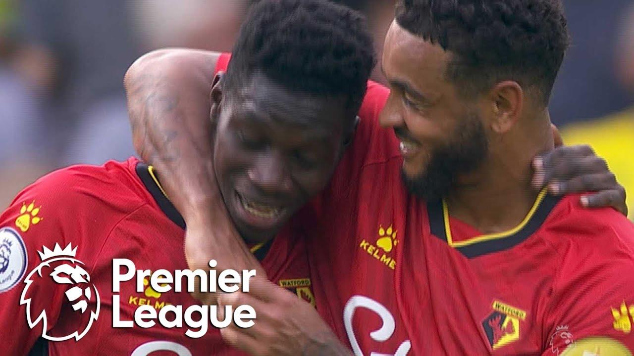 Download Ismaila Sarr wraps up Watford win against Norwich City   Premier League   NBC Sports