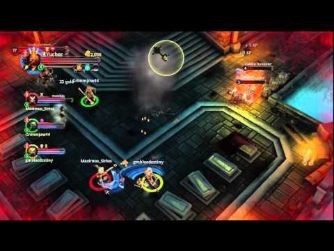 Dungeon Hunter Alliance (4) Playthough Warrior Class W/Yuchee Online Multiplayer