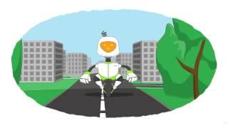 Zeichentrick-Malbuch  - Die Roboter