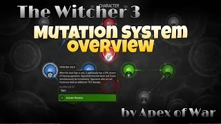 The Witcher 3 - NEW Mutation Overview!!! (Blood and Wine)