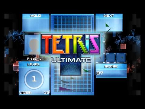 Citra Emulator (CPU JIT) - Tetris Ultimate (GLITCHY) [1080p] - Nintendo 3DS - 동영상