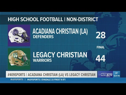 Legacy Christian takes down Louisiana's Acadiana Christian 44-28