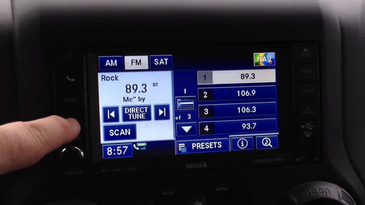Jeep Connectivity Group >> 2012 Jeep Wrangler Connectivity Package Demo Youtube