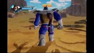Dragon Ball Xenoverse Great Ape Vegeta Playable Gameplay