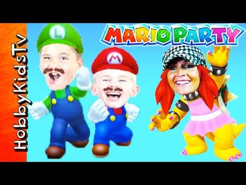 HobbyMom Plays Bower In ThisMario Party Video Game
