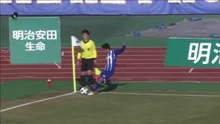 2018年3月17日(土)に行われた明治安田生命J2リーグ 第4節 山形vs町...