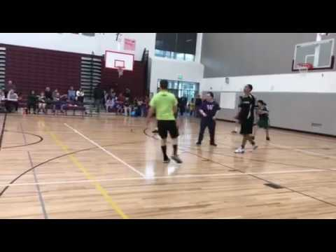 Basketball game at  Issaquah Middle School, part 1