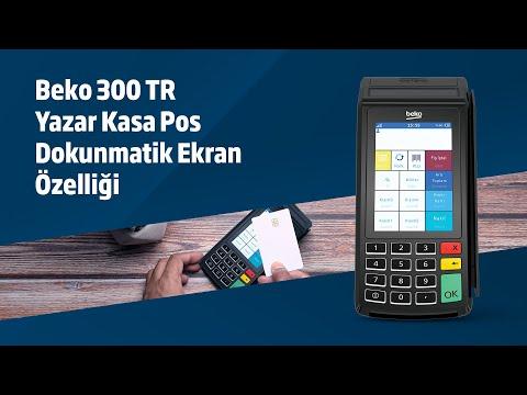 BEKO 300TR YazarkasaPos Dokunmatik Ekran Özelliği