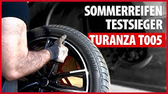 #SOMMERREIFEN ABC: Testsieger Bridgestone Turanza T005