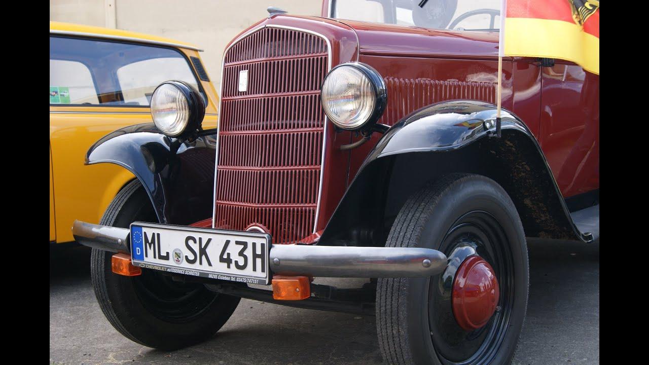 OPEL P4 OLDTIMER CLASSIC CAR PKW Antique Oldtimertreffen 2013 no Laubfrosch